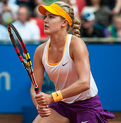 Nürnberger Versicherungscup 2014-Eugenie Bouchard by 2eight 3SC6528.jpg
