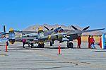 N138AM 23 Skidoo 1943 Lockheed P-38J Lightning C-N 44-23314 (15558346661).jpg