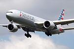 N717AN Boeing 777 American (14600882318).jpg