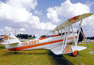 Naval Aircraft Factory N3N - NAF N3N-3 flown privately in Florida in 1972