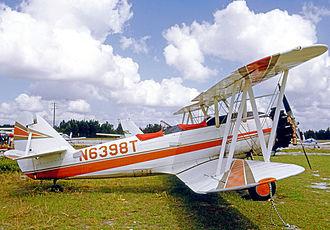 Naval Aircraft Factory N3N - NAF N3N-3 flown privately in Florida in 1972