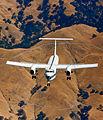 NASA C-8A AWJSRA in flight.jpg