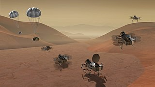 <i>Dragonfly</i> (spacecraft) Robotic space exploration mission to Titan