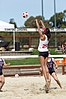 NCAA beach volleyball match at Stanford in 2017 (33276142892).jpg