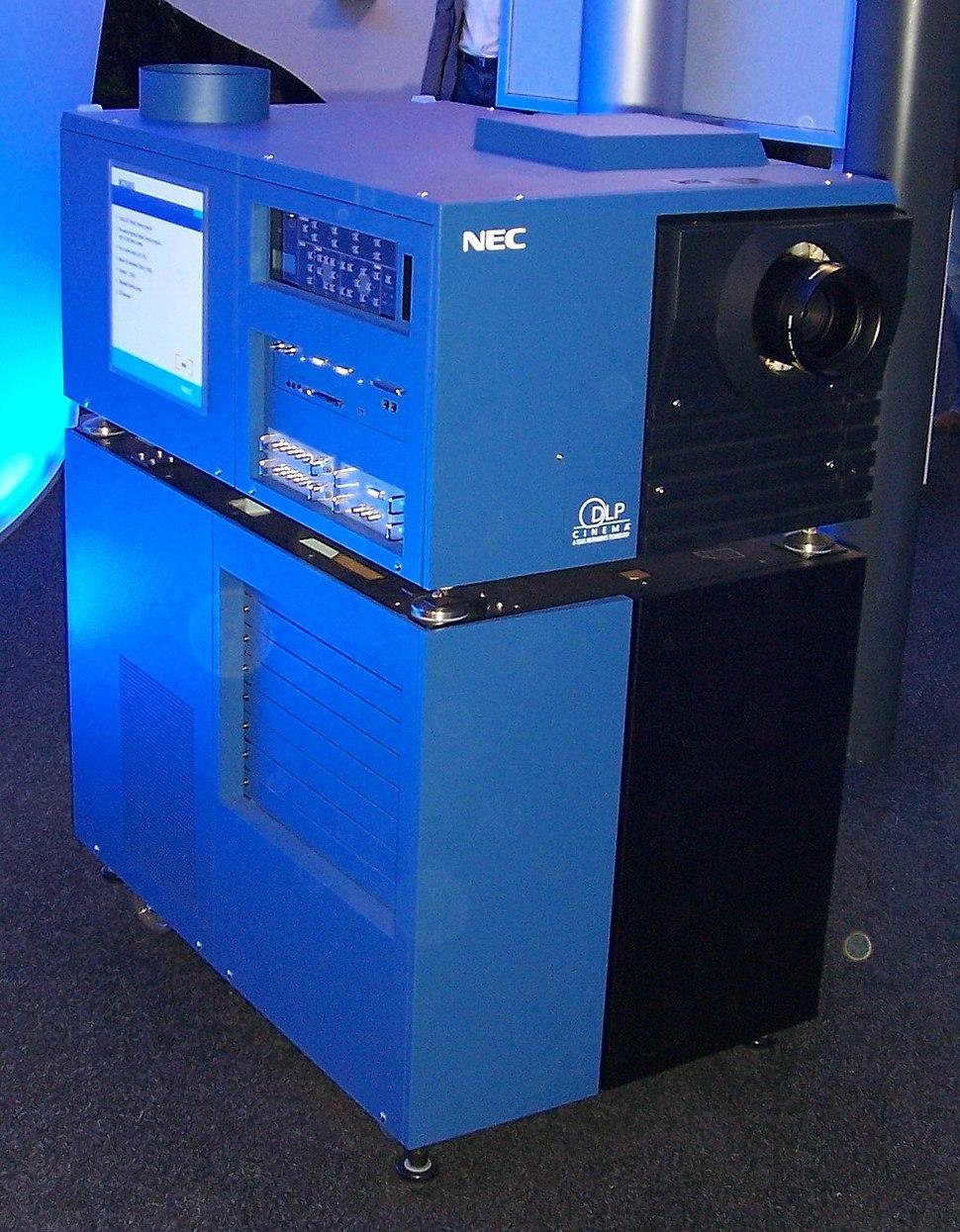 NEC Cinema DLP Beamer cebit2006
