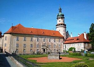 Nové Město nad Metují - The castle
