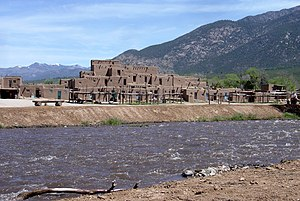 Rio Pueblo de Taos - Rio Pueblo de Taos at Taos Pueblo