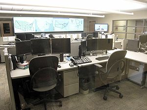 Network operations center - Image: NOC IUPUI