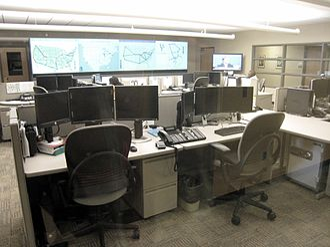 Network operations center - Image: NOC IUPUI