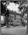 NORTH (K STREET) SIDE - Franklin School, Thirteenth and K Streets Northwest, Washington, District of Columbia, DC HABS DC,WASH,422-2.tif