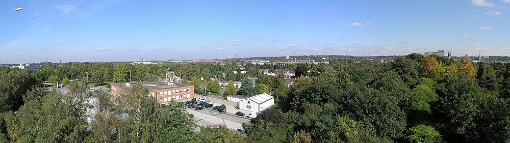 Панорама города (вид со смотровой площадки камеры-обскуры)
