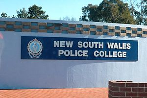 New South Wales Police Academy - Image: NSW Police College sign