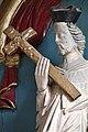 Nagylóc, római katolikus templom 2021 19 Nepomuki Szent János-szobor.jpg