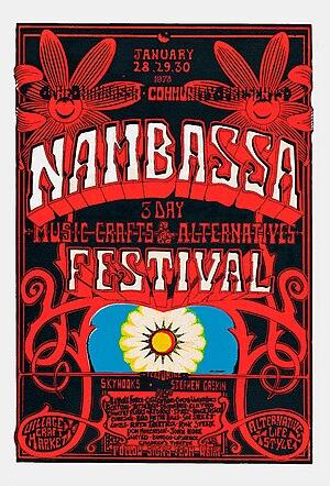 Nambassa - Nambassa Festival 1978, poster