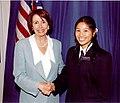 Nancy Pelosi and HillaryChu.jpg