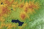 Nantai Volcano & Lake Chuzenji Relief Map, SRTM-1.jpg