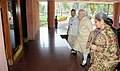 "Narendra Modi arrives at ""Joint Conference of Chief Ministers of States and the Chief Justices of the High Courts"", in New Delhi. The Union Minister for Law & Justice, Shri D.V. Sadananda Gowda is also seen (1).jpg"