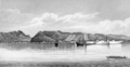 Narrative of a Voyage around the World - View of Honululu, Oahu, Sandwich Islands.png