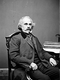Nathaniel Hawthorne in the 1860s.