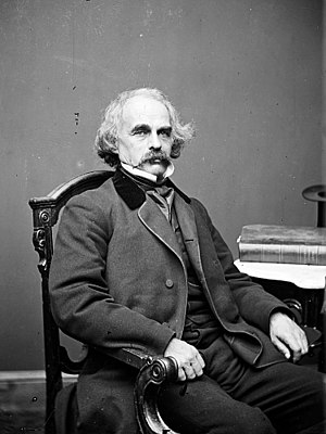 Romantic literature in English - Nathaniel Hawthorne.