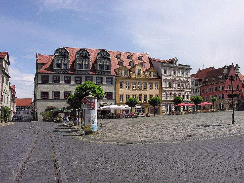 Naumburg Marktplatz mit den Bürgerhäusern 2007 Foto Wolfgang Pehlemann Wiesbaden DSCN2542