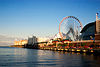 Navy Pier was built as part of the 1909 Plan of Chicago.