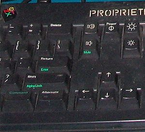 Command key - NeXT keyboard command key