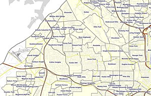 Neighborhoods in Atlanta - Northwest Atlanta