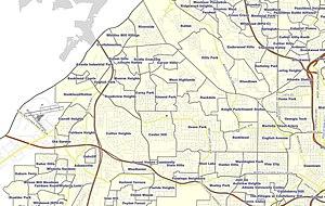Neighborhoods in Atlanta - Northwest Atlanta