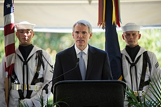Rob Portman - Portman speaks at the memorial of Neil Armstrong, 2012