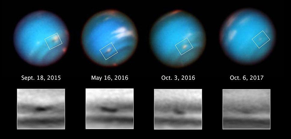 Neptune%E2%80%99s shrinking vortex