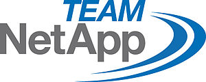 English: Logo of Team NetApp(cycling) Deutsch:...