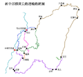 New Central Cross-Island Highway Network Map (Traditional Chinese).png