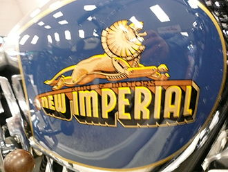 New Imperial Motors - Image: New Imperial Motorcycles badge