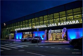 Pardubice Airport - Image: New Jan Kaspar terminal in Pardubice Airport
