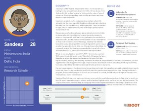 New Readers User personas, Sandeep, India.pdf