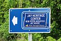 New York State Path Through History Sign for 1838 Peter Augustus Jay House - Jay Heritage Center.jpg