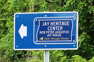 Jay Estate - Path Through History designation 2014