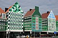 New retro wooden houses style townhall buildings Zaandam - panoramio.jpg