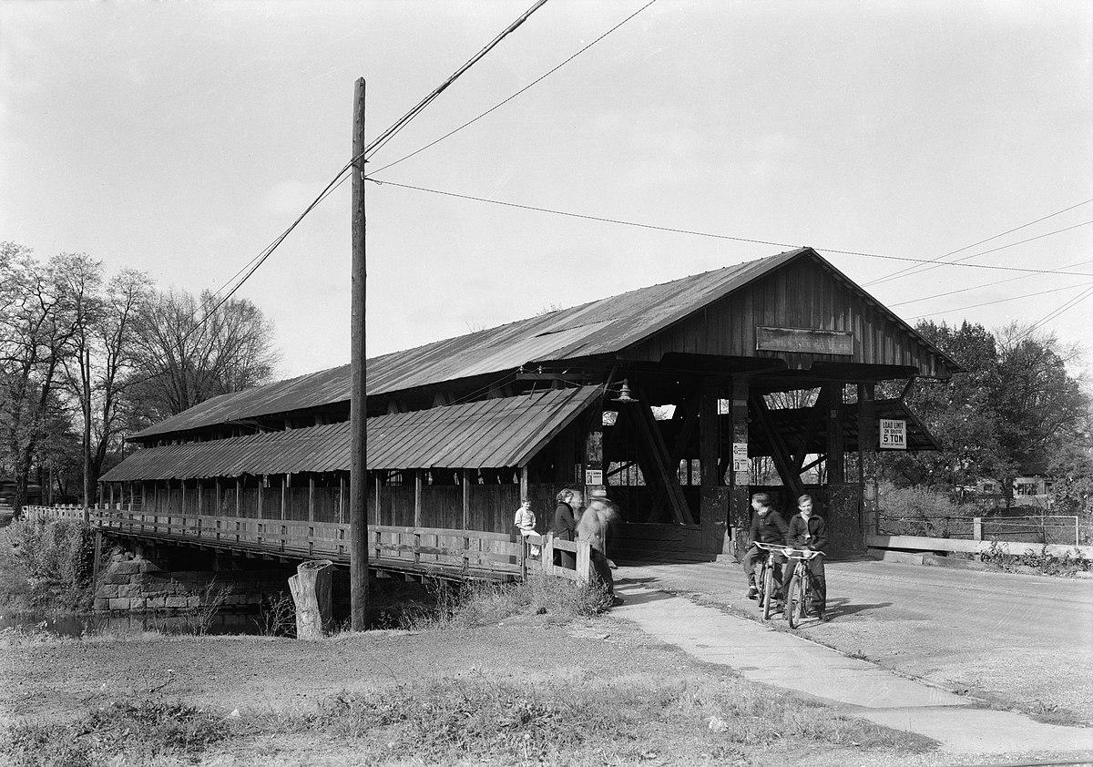 Newton Falls Covered Bridge Wikipedia