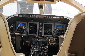 Nextant Aerospace - new cockpit