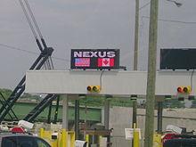 Carte Nexus Canada.Nexus Wikipedia