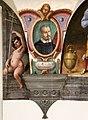 Nicodemo ferrucci o jacopo confortini, san bernardo degli uberti, tra putti con emblemi vallombrosani, 1634 circa, 02.jpg