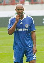 Anelka nel 2008 con la maglia del Chelsea