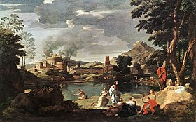 Nicolas Poussin - Landscape with Orpheus and Euridice - WGA18321.jpg