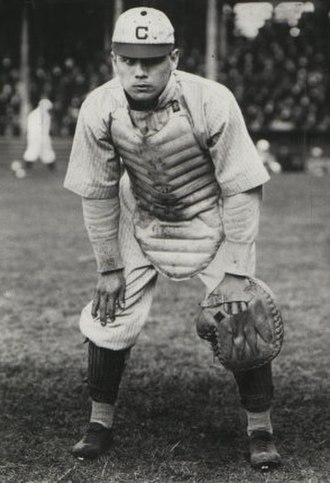 Nig Clarke - Clarke playing for the Cleveland Naps