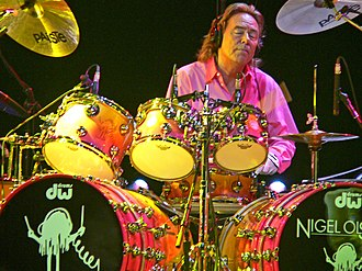 Nigel Olsson - Olsson in the Elton John band; May 2007 in Alabama