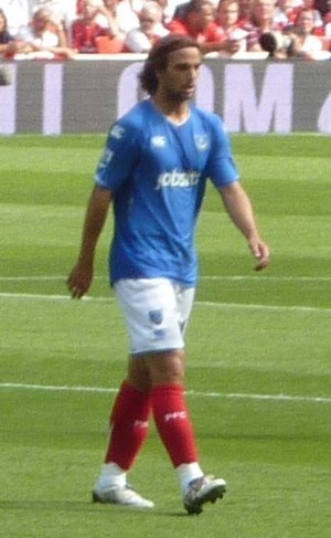 Niko Kranjčar - Kranjčar playing for Portsmouth in 2009