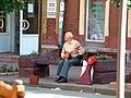 Nischni Nowgorod Einkaufsstrasse-Balaleika 2004-07-09.jpg