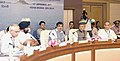 Nitin Gadkari chairing the 31st Annual General Meeting of National Water Development Agency, in New Delhi.jpg
